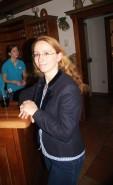 Die Geschäftsführende Gemeinderätin Rebecca Figl-Gattinger unterhielt sich prächtig