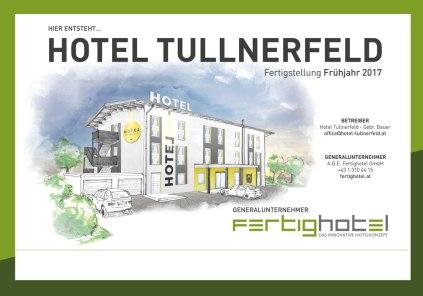 Das neue Projekt: Hotel Tullnerfeld in Langenrohr