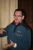 Gemeindearzt Dr. Haas hielt einen Vortrag über degenerative Knochenveränderungen und gab Hinweise zur Prophylaxe.