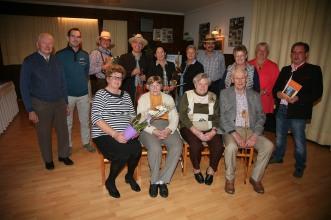 Franziska Hierner und Leopoldine Daschauer wurden als Jubilarinnen gratuliert.