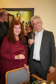 Christine Huber und Hans Engelhart