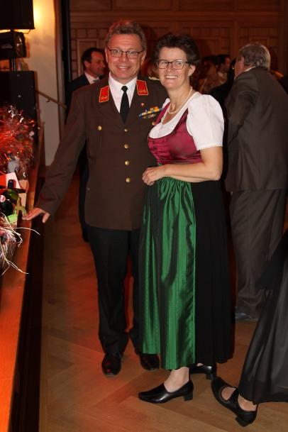 Franz Hirschböck mit Gattin Maria