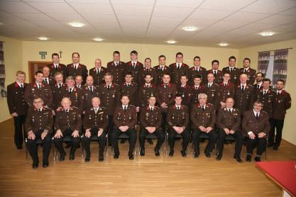 Mannschaftsfoto von der Mitgliederversammlung