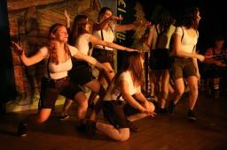 Das Ballett der Landjugend begeisterte, das Publikum forderte eine Draufgabe ....