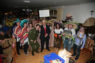 """Mit vierzehn Gruppenmitgliedern waren die """"Mexikaner"""" die größte Gruppe und holten sich auch den 2. Platz bei der Prämierung"""