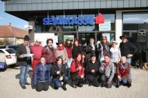 Die Linedancegruppe der Gesunden Gemeinde zeigte ihr Können und lud zum Mittanzen ein