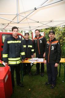 Matthias Schmidt, Andreas Bauer, Gerald Gudernatsch und Dominik Dorner (von links) leiteten den Vergleichsbewerb