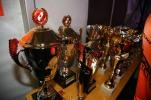 Pokale für die Preisträger