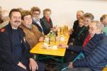 Kdt. Johann Dorner, Hermine Hromatka, Obfrau Waltraud Niederhametner, Hermine Andrä, Franz Buchinger, Antonia Engelhart und Maria Buchinger (von links) beim Seniorennachmittag