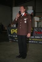 Kdt. Peter Luger begrüßte die zahlreichen Gäste zum Sonntagsnachmittagsprogramm