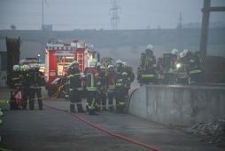Feuerwehren im Übungseinsatz