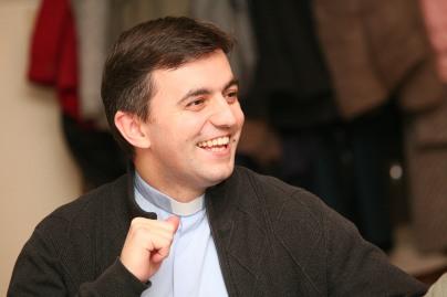 Pfarrer Josef Balteanu wohnte der Jahreshauptversammlung bei