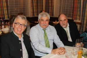 Hans Englhart, Bgm. Reinhard Breitner und Obmann Heribert Scheikl (von links)