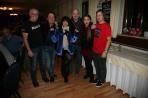 Von links: Eventmanager Franz Mader, Andy Cutic, Joni Madden, Andreas Neubauer, Kate Madden-Cutic und Gastronom Walter Kahri