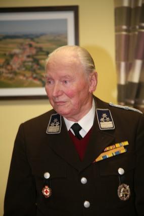 """Franz Buchinger sen. betonte in seiner Wortmeldung die Kameradschaft und die Bedeutung des """"Feuerwehrmontags"""" für Gemeinschaft"""