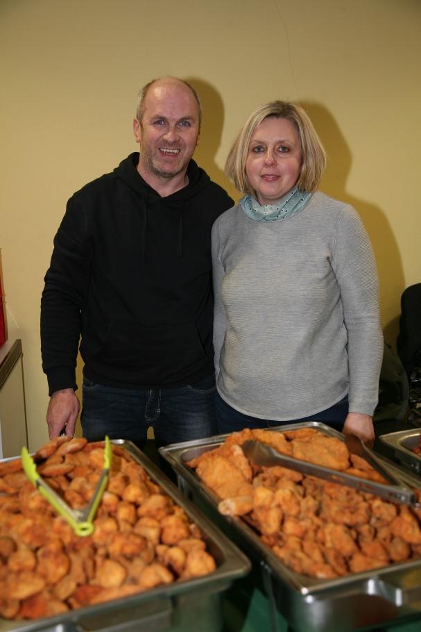 Gerald und Ines Hochenthaner sorgten mit dem Catering für die Bewirtung