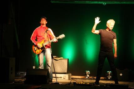 """Markus Fichtinger und Boris Bukowski (von links) begeisterten mit """"Privaaat"""""""