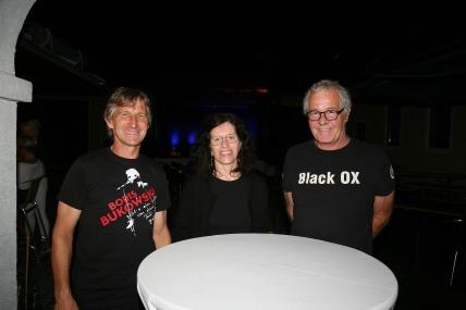 Walter Kahri, Gabriele Schwarz und Franz Mader (von links) strahlen Zuversicht aus und freuen sich auf die nächsten Veranstaltungen.