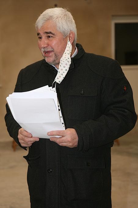 Bgm. Reinhard Breitner leitete die Neuwahl und bedankte sich bei der FF Langmannersdorf für ihr Engagement