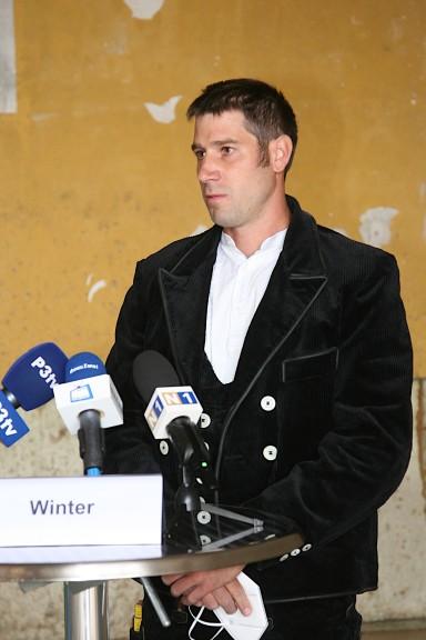 Zimmermeister Stefan Winter sorgte mit seinen acht Mitarbeitern für den Bau