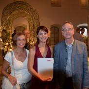 Christina Linauer (Mitte) mit ihren Seniorchefs Maria und Leo Bonigl
