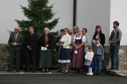 Der Chor der Pfarre Weißenkirchen unter der Leitung von Kapellmeister Andreas Kos gestaltete die Segnung und den Festgottesdienst